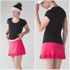 Lululemon City Sky Run Skirt in pink